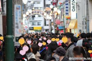 写真:あけぼのばしショッピングストリート2016